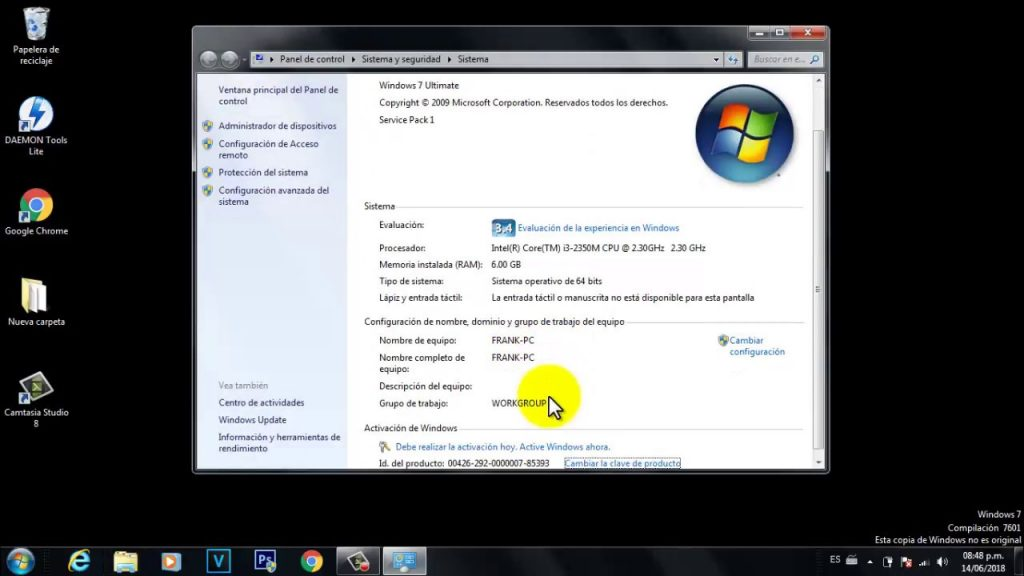 Requisitos Para Descargar E Instalar El Windows 7-6