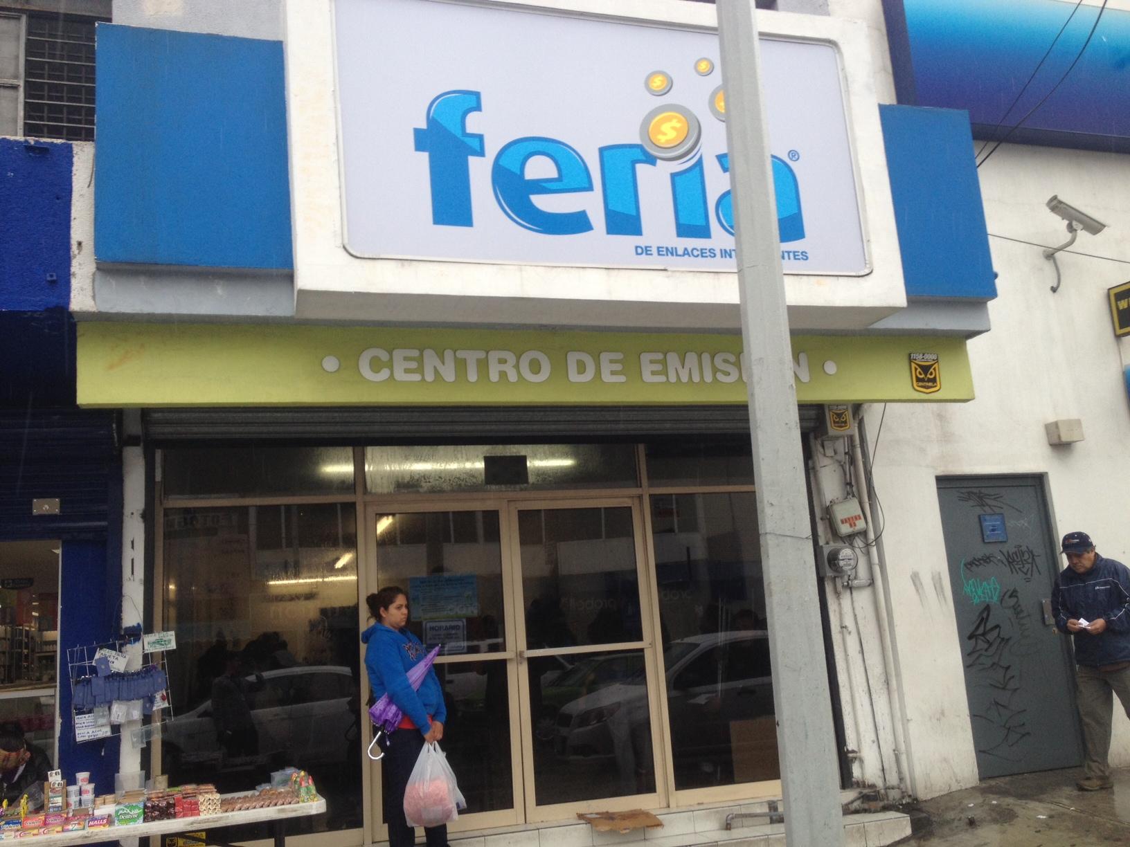Tarjeta Feria