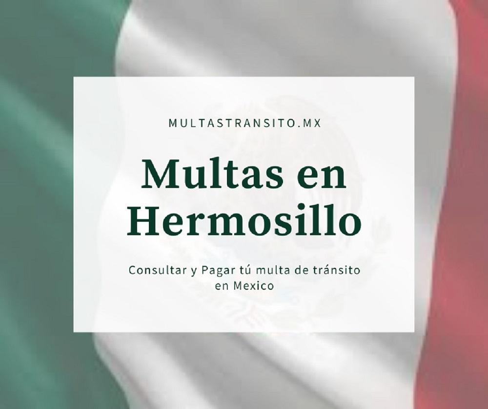 multas hermosillo